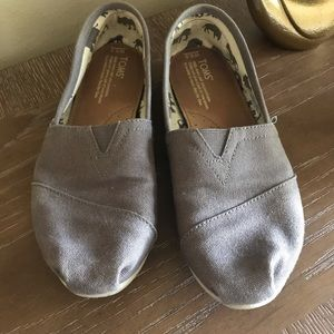 Shoes - Toms size 8 brown shoes  slides -